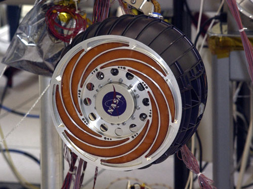 Mars Rover Wheel Design - Pics about space